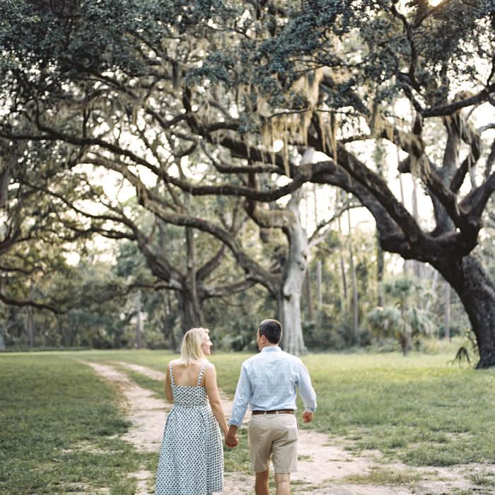 Caroline + Matt | Hilton Head Island Film Engagement Photographer