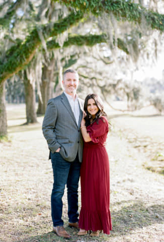 Janelle & Alex | Wormsloe Film Engagement Photographer